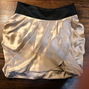 LAST DROP! Haute Hippie Silk Drape Wrap Skirt